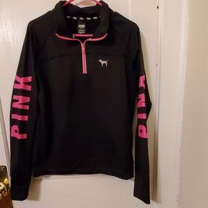 Victoria's Secret Pink quartet zip shirt